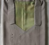 男物変わり衿コート