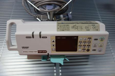 トップ動物用輸液ポンプ TOP-551VC