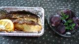 鯛の塩焼き&赤福