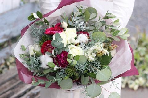 お誕生日のお祝い花束*