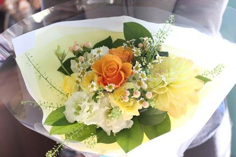 *黄色い花束*