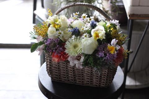 春を感じる花束&アレンジメント*