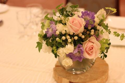 * 初夏を感じるお花に囲まれて *