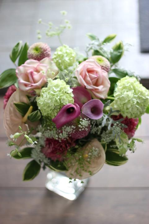 母の日 プレゼント♪ 「花束」「フラワーアレンジメント」