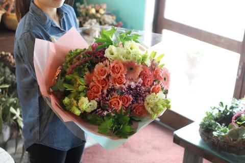 *豪華な花束*