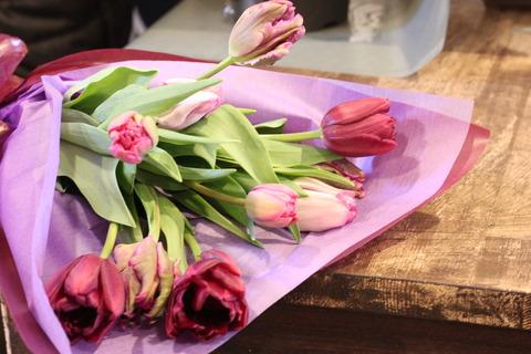 チューリップの花束*