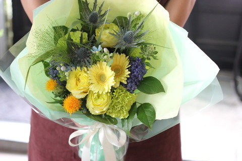 お花を贈る嬉しさを