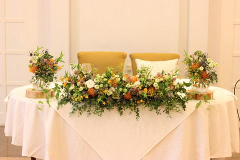 * Botanical Wedding *