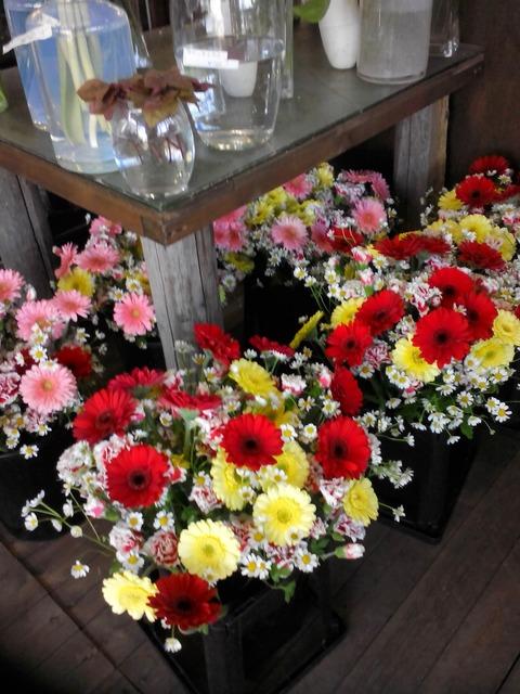お祝いのミニ花束♪