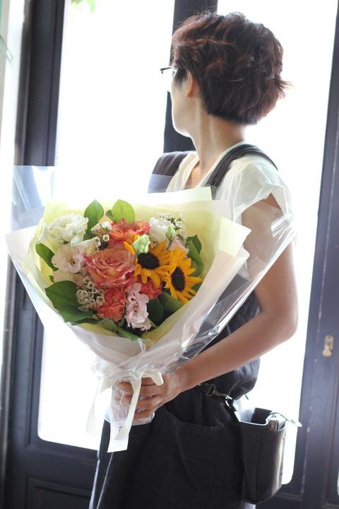 * ありがとうをお花にのせて *