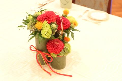 花結い装花