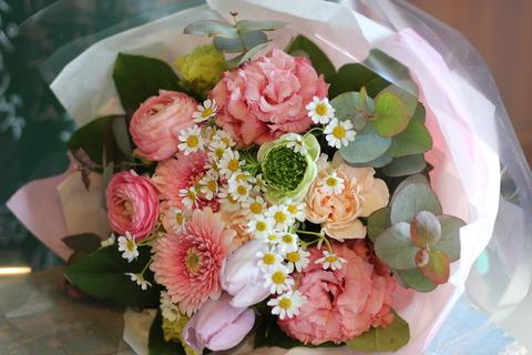 送別の贈り物にお花を♪
