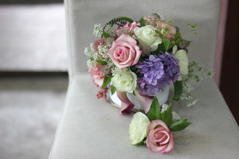 生徒さん作品♪友達の結婚式のサプライズ。