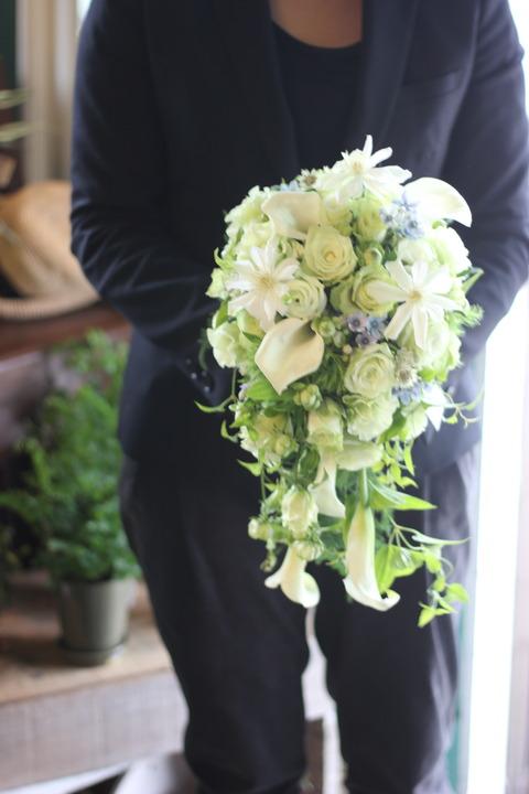 * Wedding bouquet *