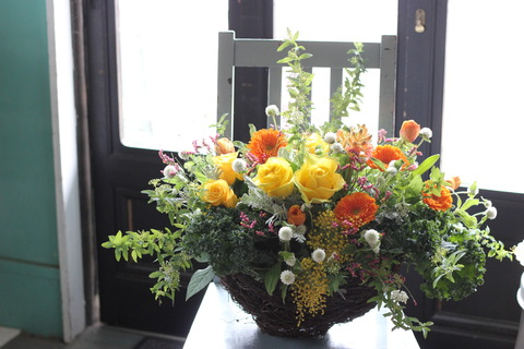 * orange arrangement *