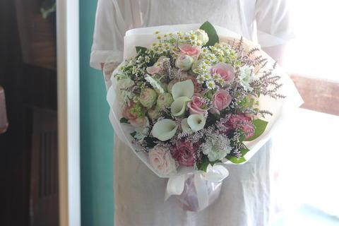 * お誕生日の花束 *