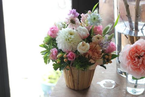 優しさの表わる花へ