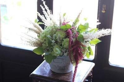 身体に優しく、食と花