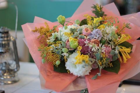 ~季節のお花で~