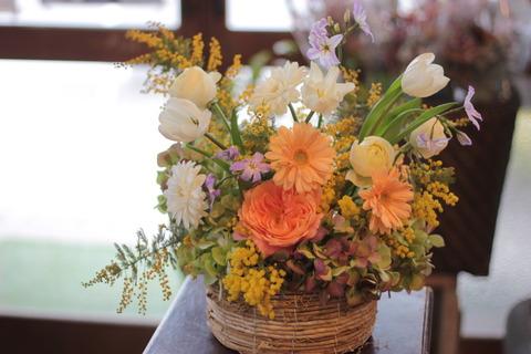 ミディアムレッスンのお花♪