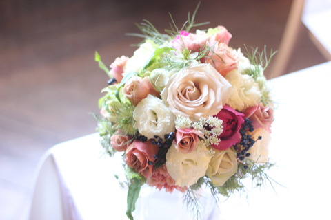 * wedding bouquet *