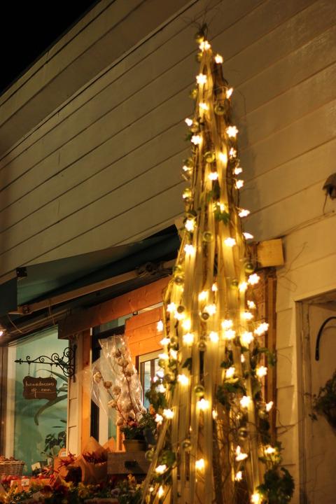 クリスマスツリー点灯♪