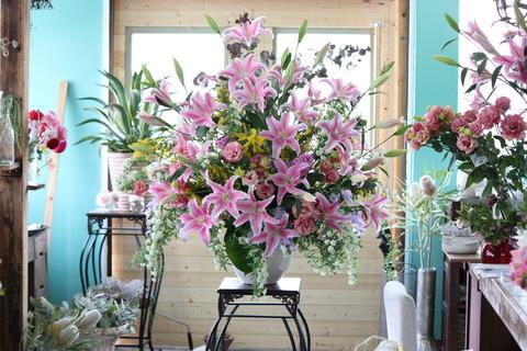 入学式のお花♪