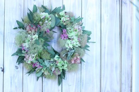 * birthday wreath *