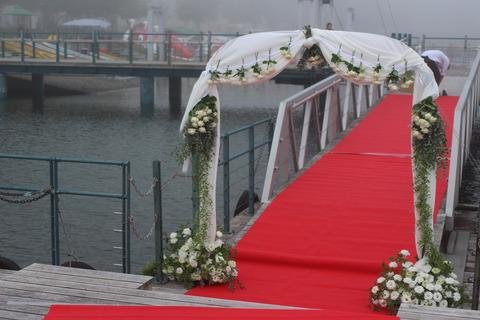 * lake Chuzenji wedding *