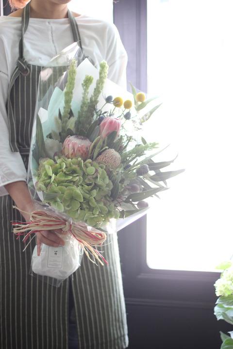 お花を贈る幸せ