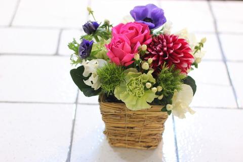 * 春のお花のアレンジメントレッスン *
