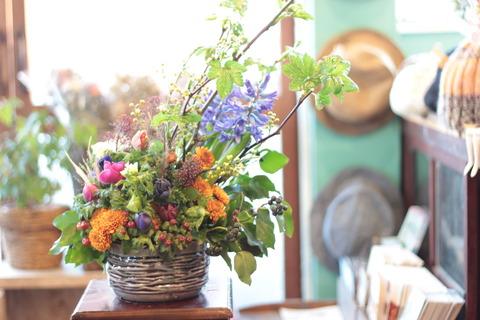 季節のお花で♪