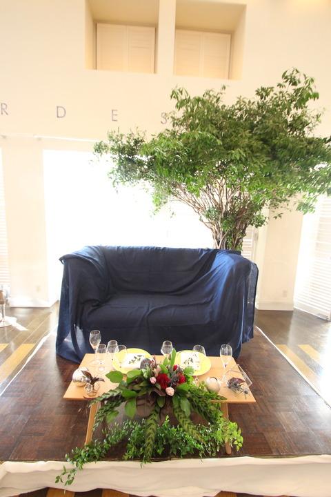 木の下でwedding
