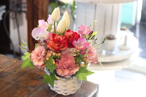 * flower arrangement lesson *