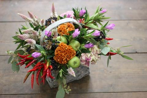 お花カフェ 9月26日♪ 秋の彩