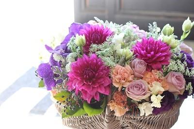 お花をお届けします