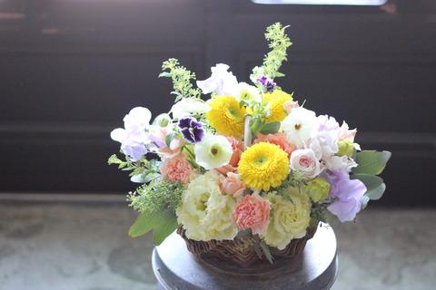 卒業や送別を彩るお花*