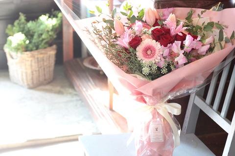 想いを伝える花束