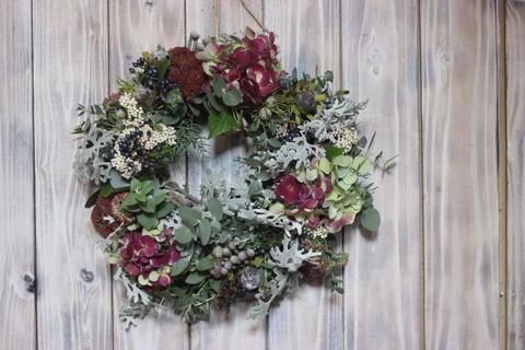 Antique Jewelry Wreath