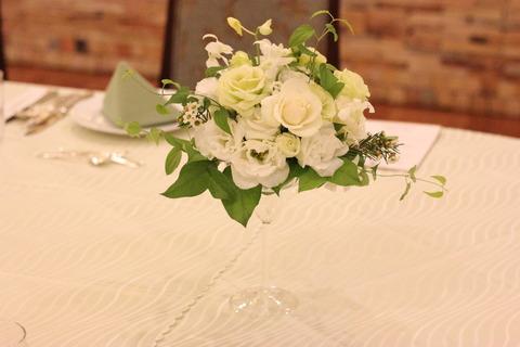 ~結婚式の会場装花~