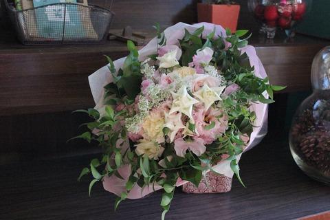 ~ふんわりピンクの花束~