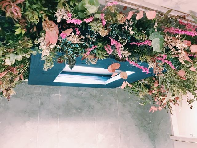 装花のお仕事してきました。