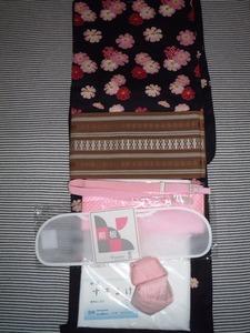 浴衣特価セット3群馬県高崎市花がたみ着付教室