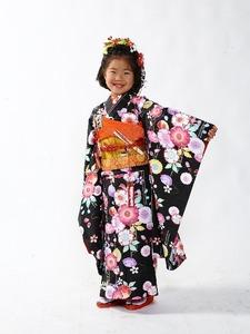 七五三7歳貸衣装2 群馬県高崎市花がたみ着付教室