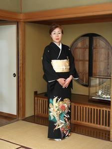 黒留袖単衣1