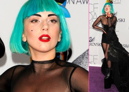 Green-Haired-Lady-Gaga-Glams-Up-the-CFDA-Awards-1