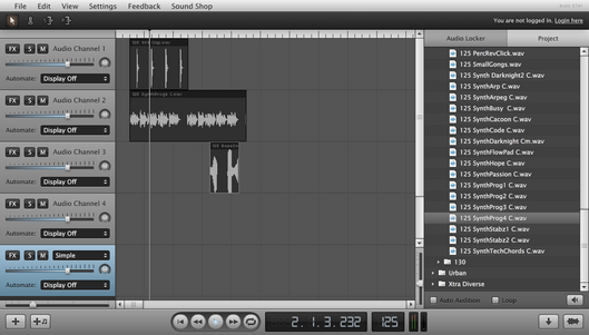 Soundation Studio beta