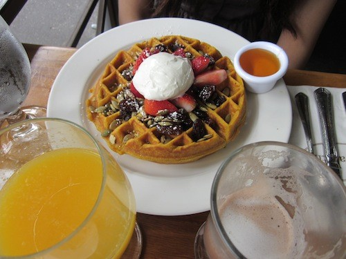 sarabeths-pumpkin-waffle