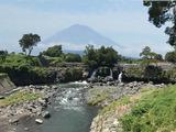 2018.8.4鮎壺の滝と富士山
