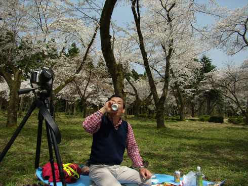 石川県林業試験場で